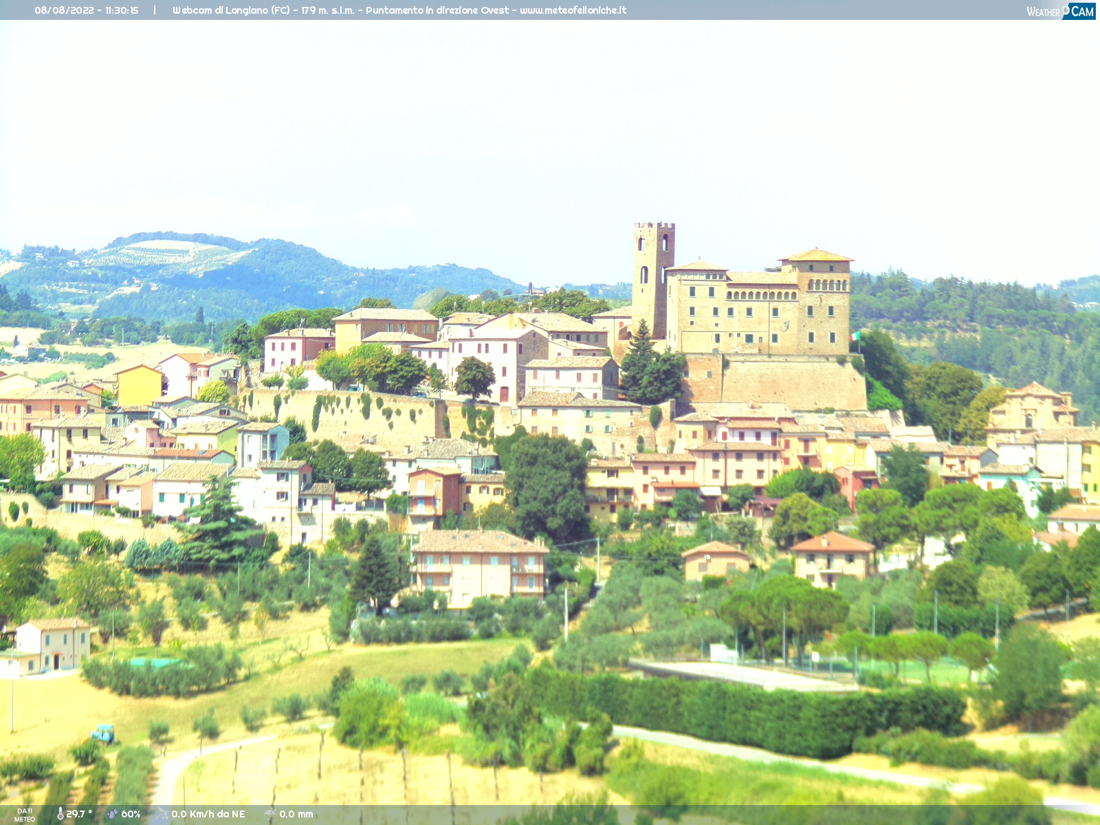 Webcam Felloniche fraz. Longiano